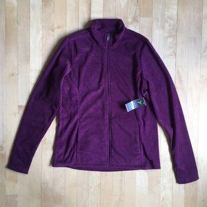 NEW Old Navy Active fleece full-zip magenta jacket